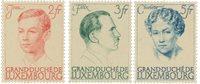 Luxembourg 1939 - Michel 339/41 - Neuf