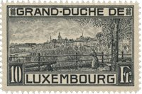 Luxembourg 1923 - Michel 143 - Postfrisk