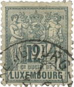Luxembourg - Michel 50 - Stemplet