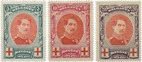 Belgique - Croix Rouge, roi Albert grand format - Neuf avec ch.(OBP 132-34)