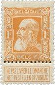 Belgique 1905 - Neuf avec charnière - OBP 79a
