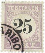 Suriname 1886-1888 - NVPH P5 - stemplet