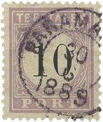 Surinam 1886-1888 - NVPH P3 - oblitéré