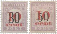 Suriname 1911 - NVPH P15/16 - stemplet