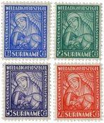 Suriname - Van Heemstra stichting 1928 (nr.137-140, postfrisk)
