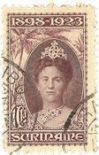 Suriname 1923 - NVPH 108 - stemplet