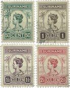 Suriname 1913-1926 - NVPH 100/03 - stemplet