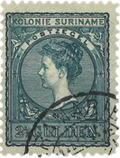 Surinam 1907 - NVPH 57 - oblitéré