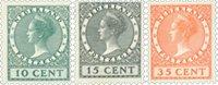 Pays-Bas - NVPH 136-138 - Neuf