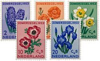 Nederland 1953 - Nr. 602-606 - Postfris