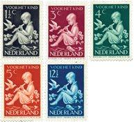Pays-Bas - NVPH 313-317 - Neuf