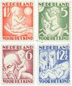 Nederland 1930 - NVPH 232-235 - Postfris