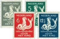 Nederland 1929 - Nr. 225-28 - Postfris
