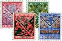 Pays-Bas - NVPH 208-211 - Neuf