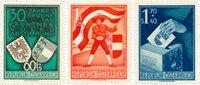 Østrig 1950 - Michel 952/954 - Postfrisk