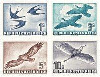 Østrig 1953 - Michel 984/987 - Ubrugt