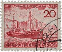 Republique Fédéraled'Allemagne 1952 - Michel 152 -  Oblitéré