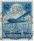 Tyske Rige 1936 - MICHEL 603 - Stemplet