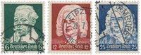Tyske Rige 1935 - Michel 573-75 - Stemplet