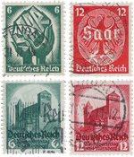 Tyske Rige 1932 - Michel 474-478 - Stemplet