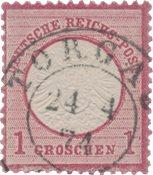 Empire Allemand 1872 - Michel 19 - oblitéré