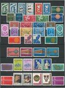Italien 1956-1976 - EUROPA CEPT - Postfrisk