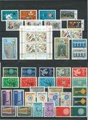 Turkki 1958-1992 - Eurooppa CEPT - Postituoreena
