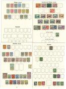 Trinidad e Tobago - Collezione 1867-1935 - linguellati e usati