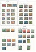 Rep. Dominicana - Collezione 1908-1958 - linguellati ed usati