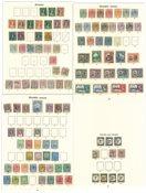 Granada - Ubrugt og stemplet samling 1892-1935