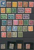 Skandinavien - Postfriske mærker