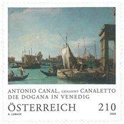 Østrig - Die Dogana - Postfrisk frimærke