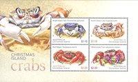 Christmas Islands - Krabber - Postfrisk miniark
