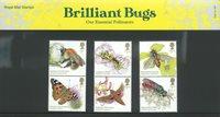 England - Insekter - Souvenirmappe