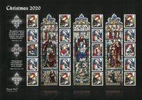 England - Julen 2020 - Postfrisk ark