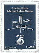 France - 25 ans du bâtiment du Conseil de l'Europe - Timbre neuf