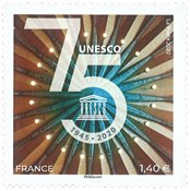 France - Unesco 2020 - Timbre neuf