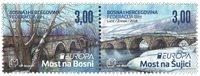 Bosnien Herzegovina - Europa 2018 Broer - Postfrisk sæt 2v