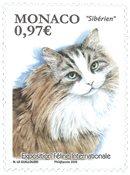 Monaco - Katteudstilling 2020 - Postfrisk frimærke