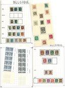 Belgique - Collection neuve avec ch. et obl. 1849-1966