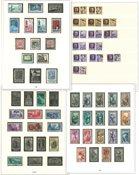 Italien - Postfrisk og stemplet samling 1946-1974