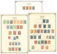 Bulgarien - Ubrugt og stemplet samling 1884-1951