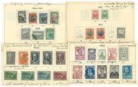 Bulgarien - Ubrugt og stemplet lot 1901-1933