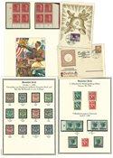Tyskland Det Tyske Rige - Postfrisk og stemplet samling