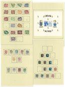 Belgien - Stemplet samling 1881-1957