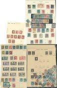 Spanien - Stemplet samling 1850-1920