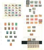 Tyrkiet - Ubrugt, postfrisk og stemplet samling 1920-1980