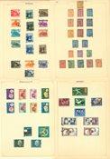 Bulgarien - Ubrugt og stemplet samling 1918-1982