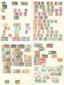 Belgien - Postfrisk, ubrugt og stemplet samling 1939-1966