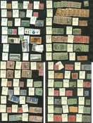 British Colonies - Mint, unused and cancelled collection